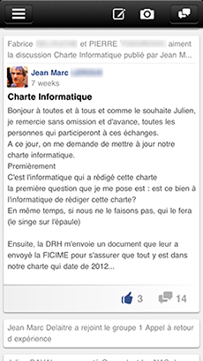 L'application Help DSI le réseau social du Club Decision DSI